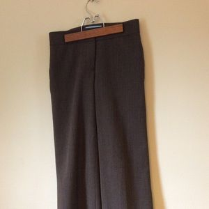 Antonio Melanie cuff pants lined wool blend size 2